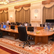 ၂၀၂၁ ခုနှစ် ဖေဖော်ဝါရီ ၂ ရက်တွင် ကျင်းပပြုလုပ်သော ပြည်ထောင်စုသမ္မတ မြန်မာနိုင်ငံတော်အစိုးရ၊ ပြည်ထောင်စုအစိုးရအဖွဲ့ အစည်းအဝေးတွင် တပ်မတော် ကာကွယ်ရေးဦးစီးချုပ် ဗိုလ်ချုပ်မှူးကြီး မင်းအောင်လှိုင် ပြောကြားသည့် အဖွင့်အမှာစကားမှ ကောက်နုတ်ချက်များ
