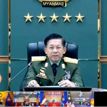 (၁၈)ကြိမ်မြောက် အာဆီယံတပ်မတော်ကာကွယ်ရေးဦးစီးချုပ်များအစည်းအဝေး (ACDFM-18) ကို Video Conferencing စနစ်ဖြင့်ကျင်းပပြုလုပ်(ရုပ်သံသတင်း)