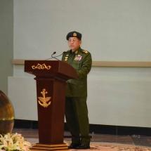(၇၆)နှစ်မြောက် တပ်မတော်နေ့အထိမ်းအမှတ်အဖြစ် ခေတ်အဆက်ဆက်တာဝန်ထမ်းဆောင် ခဲ့ကြသည့် ကာကွယ်ရေးဦးစီးချုပ်၊ တပ်မတော်ကာကွယ်ရေးဦးစီးချုပ်(အငြိမ်းစား) များ၏ အမှတ်တရရုပ်တုများ ဖွင့်ပွဲအခမ်းအနားကျင်းပပြုလုပ်