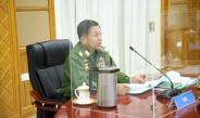 အမျိုးသားစည်းလုံးညီညွတ်ရေးနှင့်ငြိမ်းချမ်းရေးဖော်ဆောင်မှုဗဟိုကော်မတီ အစည်းအဝေး(၁/၂၀၂၁) ကျင်းပ နိုင်ငံတော်စီမံအုပ်ချုပ်ရေးကောင်စီဥက္ကဋ္ဌ၊ တပ်မတော်ကာကွယ်ရေးဦးစီးချုပ် ဗိုလ်ချုပ်မှူးကြီး မင်းအောင်လှိုင်တက်ရောက်အမှာစကားပြောကြား