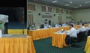 နိုင်ငံတော်စီမံအုပ်ချုပ်ရေးကောင်စီ ဥက္ကဋ္ဌ ၊ တပ်မတော်ကာကွယ်ရေးဦးစီးချုပ် ဗိုလ်ချုပ်မှူးကြီး မင်းအောင်လှိုင် တက္ကသိုလ်များတွင် စီးပွားရေးဘွဲ့သင်တန်းနှင့် ဥပဒေဘွဲ့သင်တန်းများ တိုးချဲ့ဖွင့်လှစ်ရေးလုပ်ငန်းညှိနှိုင်းအစည်းအဝေးသို့ တက်ရောက်အမှာစကားပြောကြား