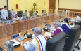 State Administration Council Chairman Commander-in-Chief of Defence Services Senior General Min Aung Hlaing addresses meeting 11/2021 of State Administration Council