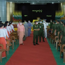 Protecting country from undesired events amounts to defending the State; be loyal to State and Tatmadaw