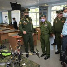 နိုင်ငံတော်စီမံအုပ်ချုပ်ရေးကောင်စီဥက္ကဋ္ဌ၊ တပ်မတော်ကာကွယ်ရေးဦးစီးချုပ် ဗိုလ်ချုပ်မှူးကြီး မင်းအောင်လှိုင် ဦးဆောင်သည့် ကိုယ်စားလှယ်အဖွဲ့ Novosibirsk မြို့သို့ ရောက်ရှိ၊ Novosibirsk State Academic Opera and Ballet Theatre ၊ Higher Military Command School နှင့် Russian Academy of Science (Siberian Branch) များသို့ သွားရောက်လေ့လာ