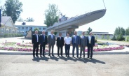 """Delegation led by Chairman of State Administration Council Commander-in-Chief of Defence Services Senior General Min Aung Hlaing visits JSC """"Zelenodolsk Plant named after A.M.Gorky"""" in Kazan, capital of Republic of the Tatarstan"""